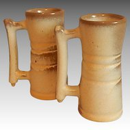 Two Frankoma Pottery  Demitasse Cups