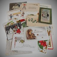 Group of Thirty- one  Vintage Post Cards