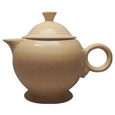 Homer Laughlin Fiestaware Apricot Teapot