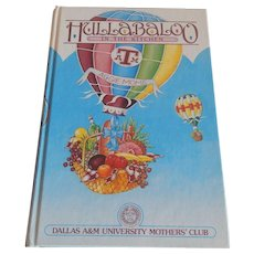 Hullabaloo In The Kitchen Cookbook  Aggie Moms