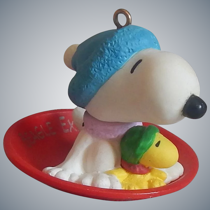 Snoopy And Woodstock Christmas Ornaments.Hallmark Snoopy And Woodstock Ornament