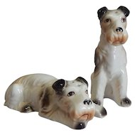 Fitz and Floyd Terrier Salt and Pepper Shakers
