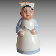 Japan Black Mammy Ceramic Shaker
