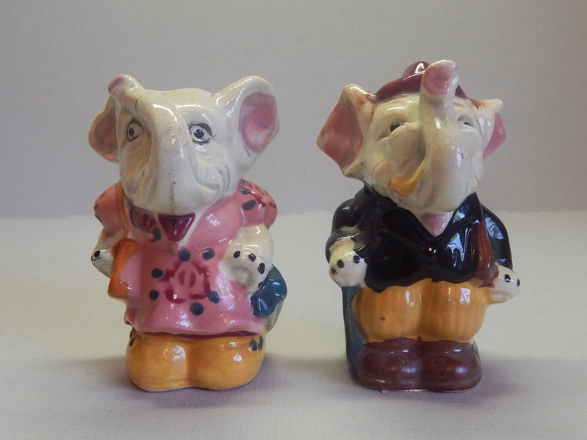 Elephant Salt And Pepper Shakers Colemans Collectibles