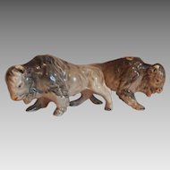 Relco Buffalo Salt and Pepper Shakers