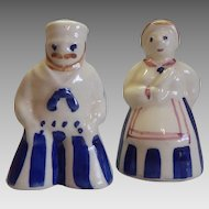 Purinton Pottery Man and Women Salt and Pepper Shakers