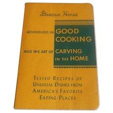 Duncan Hines Adventures in Good Cooking