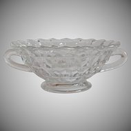 Fostoria American Crystal Cream Of Soup Bowl