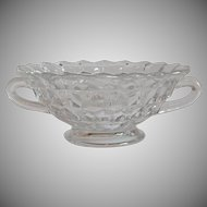 Fostoria American Crystal Cream OF Soup