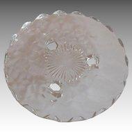 Fostoria American Crystal Tidbit
