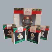 Hallmark Keepsake Little Frosty And Friends Ornaments