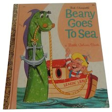 Little Golden Book Beany Goes To Sea