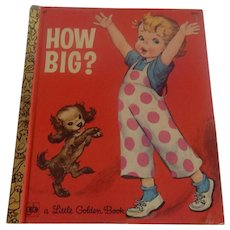 Little Golden Book How Big