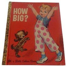 Little Golden Book How Big