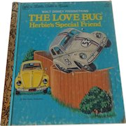 A Little Golden Book The Love Bug Herbie's Special Friend