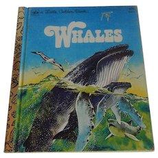 A Little Golden Book Whales