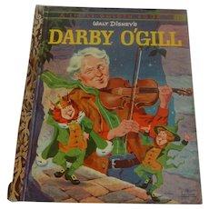 Little Golden Book Darby O'Gill