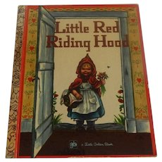 Little Golden Book Little Red Riding Hood