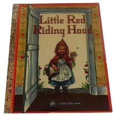 Little Golden Book Little Red Riding Hood