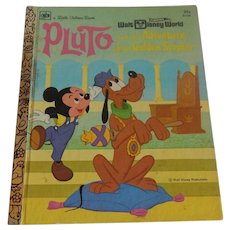 A Little Golden Book Walt Disney Pluto
