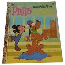 A Little Golden Book Walt Disney Pluto