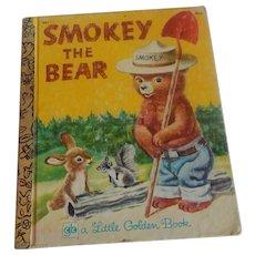 Little Golden Book Smokey The Bear