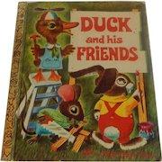 Little Golden Book Duck and his Friends