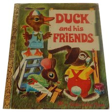 Little Golden Book Duck and his Friends