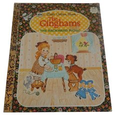 Little Golden Book The Ginghams The Backward Picnic