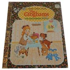 Little Golden Book The Ginghams The Backward Picnic