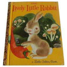 Little Golden Book The Lively Little Rabbit