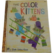 Little Golden Book The Color Kittens