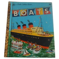 Little Golden Book Boats