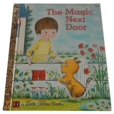 Little Golden Book The Magic Next Door