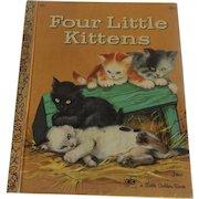 Little Golden Book Four Little Kittens