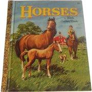 Little Golden Book Horses