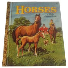 Little Golden Book Horses