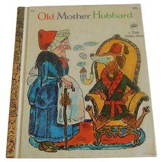 Little Golden Book Old Mother Hubbard