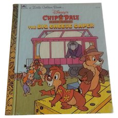 Little Golden Book Chip N Dale Rescue Rangers