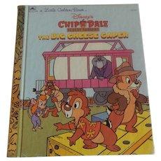Little Golden Book Chip N Dale Rescue Rangers