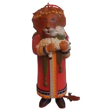 Midwest Mary Engelbreit Peace On Earth Lion and Lamb Ornament