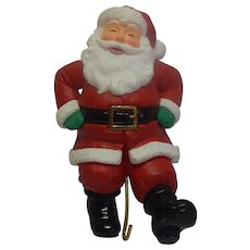Hallmark Santa  Christmas Stocking Hanger