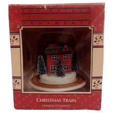 1988 Enesco Christmas Train Hanging Ornament