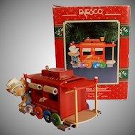 "Enesco Christmas Caboose ""King O' The Road"" Ornament"