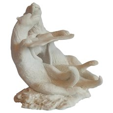 Made In Italy Christian Otters Sculpture
