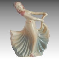 Hull Pottery Dancing Lady Figurine Planter