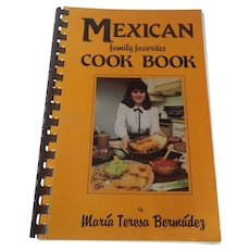 Mexican family favorite Cookbook by Bermudez