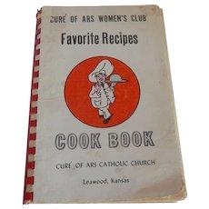 Cure' Of ARS Women's Club Cookbook Catholic Leawood Kansas