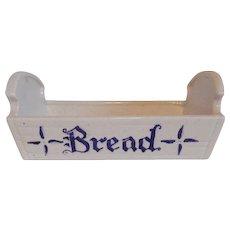 Metlox Poppytrail Homestead Provincial BLue Bread Tray