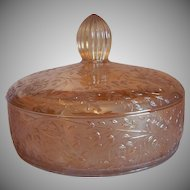 Floragold Louisa Covered Candy Dish